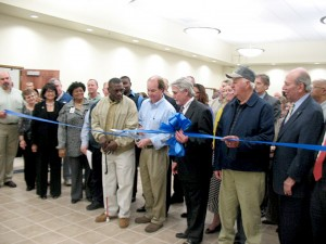 justice complex ribbon cutting